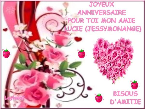 Joyeux Anniversaire 27 Mai Mon Amie Lucie Jessymonange