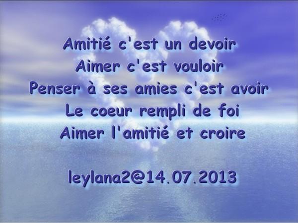 6667 Juillet 2013 Douceur De Mon Amie Leylana