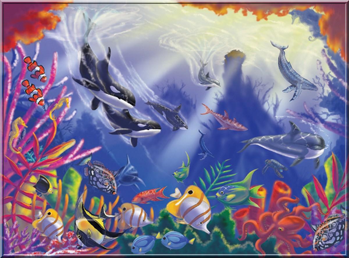 6 dauphins en fond d 39 cran servez vous magnifique for Magnifique fond ecran