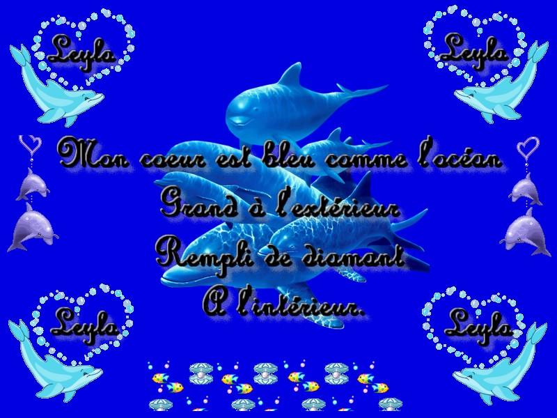Poème De Moi Mon Cœur Est Comme Locéan